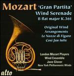 """Mozart: """"Gran Partita"""" Wind Serenade; Le Nozze di Figaro; Così fan tutte"""