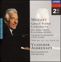 Mozart: Great Piano Concertos - Vladimir Ashkenazy (piano); Philharmonia Orchestra; Vladimir Ashkenazy (conductor)