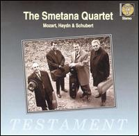 Mozart, Haydn and Schubert: String Quartets - Antonin Kohout (cello); Jiri Novak (violin); Lubomir Kostecky (violin); Milan Skampa (viola); Smetana Quartet