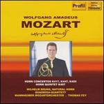 Mozart: Horn Concerto K417, K447, K 495; Horn Quintet K407