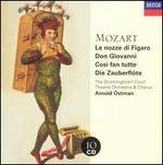 Mozart: Le nozze di Figaro; Don Giovanni; Così Fan Tutte; Die Zauberflöte - Alicia Nafé (vocals); Arleen Augér (vocals); Arman Tonsöl (vocals); Barbara Bonney (vocals); Bryn Terfel (vocals);...