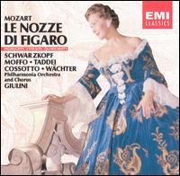 Mozart: Le Nozze di Figaro [Highlights] - Anna Moffo (vocals); Dora Gatta (vocals); Eberhard Wächter (vocals); Elisabeth Schwarzkopf (vocals);...