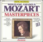 Mozart Masterpieces, Vol. 3: Concertos for Violin, Horn, Flute and Harp