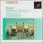 Mozart: Missa longa K. 262; Offertories K. 72 & 260; Te Deum K. 141; Ave verum corpus K. 618 - Carsten Muller (tenor); Christian Gunther (alto); Christian Immler (bass); Philipp Cieslewicz (soprano)