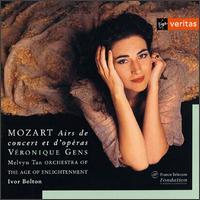Mozart: Opera & Concert Arias - Melvyn Tan (fortepiano); Véronique Gens (soprano); Orchestra of the Age of Enlightenment; Ivor Bolton (conductor)