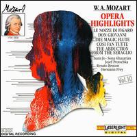 Mozart: Opera Highlights - Hermann Prey (baritone); Josef Protschka (tenor); Michele Pertusi (bass); NHK Chamber Soloists; Renato Bruson (baritone);...