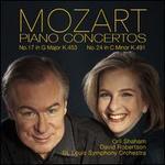 Mozart: Piano Concertos No. 17 in G major K.453, No. 24 in C minor K.491