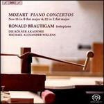 Mozart: Piano Concertos Nos. 18 in B flat major & 22 in E flat major