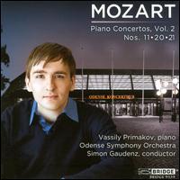 Mozart: Piano Concertos, Vol. 2 - Vassily Primakov (piano); Odense Symphony Orchestra; Simon Gaudenz (conductor)