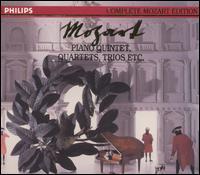 Mozart: Piano Quintets, Quartets, Trios, Etc. [Box Set] - Alfred Brendel (piano); Aurèle Nicolet (flute); Beaux Arts Trio; Bruno Giuranna (viola); Bruno Hoffmann (harmonica);...
