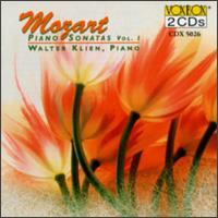 Mozart: Piano Sonatas, Vol. 1 - Walter Klien (piano)