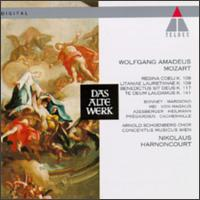 Mozart: Sacred Chorus Works - Barbara Bonney (soprano); Charlotte Margiono (soprano); Christoph Prégardien (tenor); Concentus Musicus Wien;...