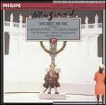 """Mozart: Sacred Music (including the Coronation Mass and """"Exsultate, jubilate"""")"""