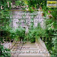 "Mozart: Serenade for 13 Winds ""Gran Partita"" - Daniel Olsen (clarinet); Dennis L. Godburn (bassoon); Gary Koch (basset horn); John Feeney (string bass);..."