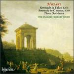 Mozart: Serenade in E flat, K375; Serende in C minor, K388; Three Overtures