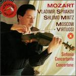 Mozart: Sinfonia Concertante in E flat major; Concertone in C major