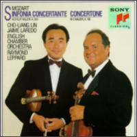 Mozart: Sinfonia concertante, K. 364; Concertone, K. 190 - Charles Tunnell (cello); Cho-Liang Lin (violin); Jaime Laredo (violin); Jaime Laredo (viola); Neil Black (oboe);...
