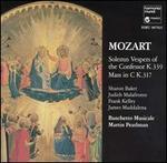 Mozart: Solemn Vespers of the Confessor K. 339; Mass in C K. 317