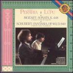 Mozart: Sonata, K448; Schubert: Fantasia, Op. 103, D940
