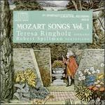 Mozart Songs, Vol. 1 - Robert Spillman (fortepiano); Teresa Ringholz (soprano)