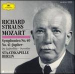 "Mozart: Symphonien No. 40 & No. 41 ""Jupiter""; Die Zauberfl�te Ouvert�re"