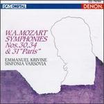 Mozart: Symphonies Nos. 30, 34 & 31