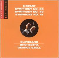 Mozart: Symphonies Nos. 35, 40, 41 - Cleveland Orchestra; George Szell (conductor)