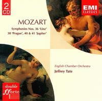 "Mozart: Symphonies Nos. 36 ""Linz"", 38 ""Prague"", 40 & 41 ""Jupiter"" - English Chamber Orchestra; Jeffrey Tate (conductor)"