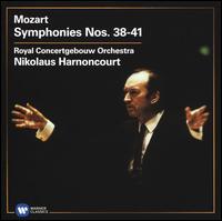 Mozart: Symphonies Nos. 38-41 - Royal Concertgebouw Orchestra; Nikolaus Harnoncourt (conductor)