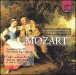 Mozart: Symphony No. 29; Eine kleine Nachtmusik; Violin Concerto No. 5; Sinfonia concertante, K. 364 & k. 297b