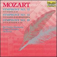 Mozart: Symphony No. 32; Symphony No. 35; Symphony No. 39 - Prague Chamber Orchestra; Charles Mackerras (conductor)