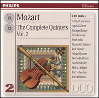 Mozart: The Complete Quintets, Vol. 2 - Allegri Quartet; Arpad Gérecz (violin); Arthur Grumiaux (violin); Aurèle Nicolet (flute); Bruno Hoffmann (harmonica);...