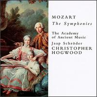Mozart: The Symphonies - Academy of Ancient Music; Christopher Hogwood (continuo)