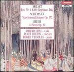 """Mozart: Trio No. K498 """"Kegelstatt-Trio""""; Schumann: Märchenerzählungen Op. 132; Bruch: 8 Pieces Op. 83"""