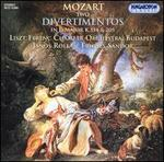 Mozart: Two Divertimentos in D major, K. 334 & K. 205