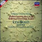 Mozart: Violin Concerto No. 2; Sinfonia Concertante