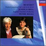 Mozart: Violin Concertos 3 & 5, K216 & K219