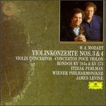 Mozart: Violin Concertos Nos. 3 & 4; Rondos