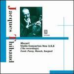 Mozart: Violin Concertos Nos. 3, 5 & 6