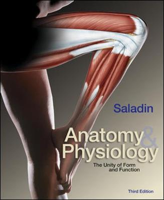MP: Anatomy and Physiology: The Unity of Form and Function with Olc Bind-In Card - Saladin, Kenneth S