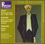 Mravinsky Conducts Bach, Bartók, Debussy