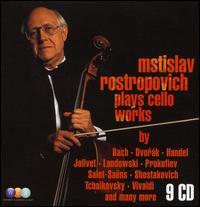 Mstislav Rostropovich Plays Cello Works - Christopher Brown (double bass); Edmond Primetemps (double bass); Galina Vishnevskaya (soprano); Gilbert Zanlonghi (cello);...