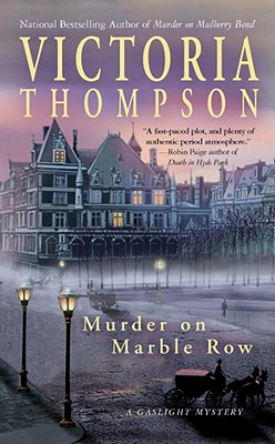 Murder on Marble Row - Thompson, Victoria