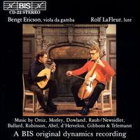 Music by Ortiz, Morley, Dowland... - Bengt Ericson (viola da gamba)