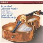 Music for Cello & Piano by Rachmaninov, Sibelius and Dvorak
