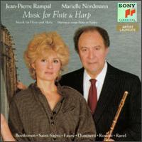 Music for Flute & Harp - Jean-Pierre Rampal (flute); Marielle Nordmann (harp)