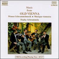Music from Old Vienna - Thalia Schrammein