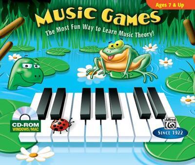 Music Games: CD-ROM Jewel Case (Windows / Macintosh) - Alfred Publishing (Editor)