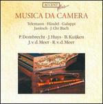 Musica da Camera: Telemann, Händel, Galuppi, Janitsche, J.Chr. Bach