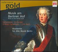 Musik am Berliner Hof - Akademie für Alte Musik, Berlin; Christine Schornsheim (harpsichord); Raphael Alpermann (harpsichord)